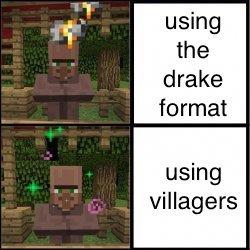 villager - meme