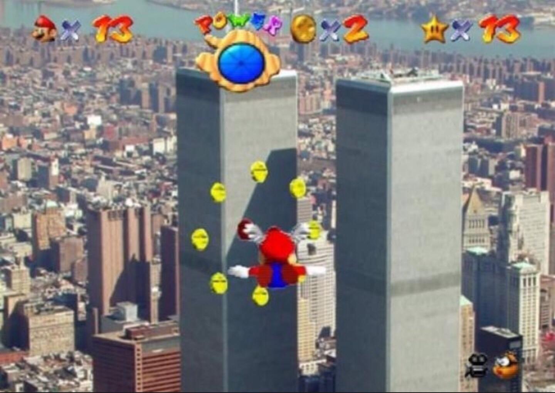 Nooo Mario qué haces? - meme