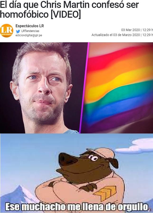 El que no lo acepte es gay y Chris y yo le tenemos fobia. (PD: The virgin Imagine Dragons; The chad Coldplay) - meme