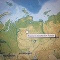 Rússia fica na Russia. Entao onde a Russia fica?