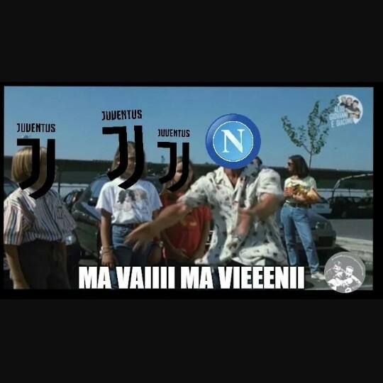Juve inceppa a Torino - meme