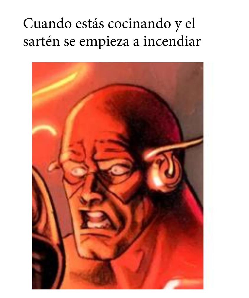 Flash cocina - meme
