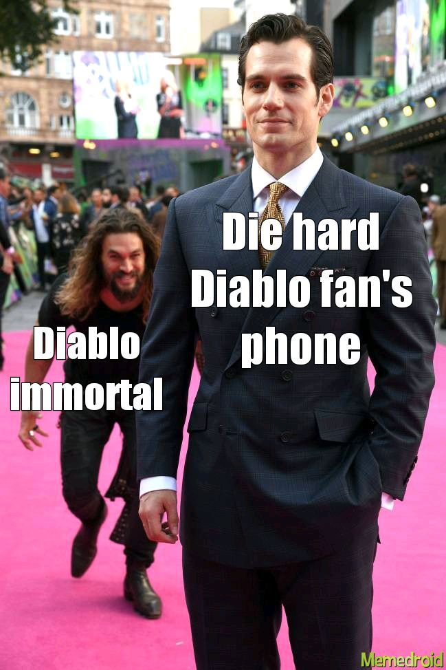 Diablo immortal sucks - meme