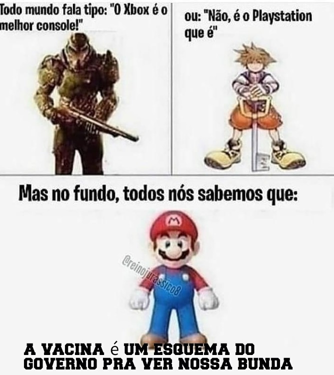 mario gaucho fodassekkkk - meme