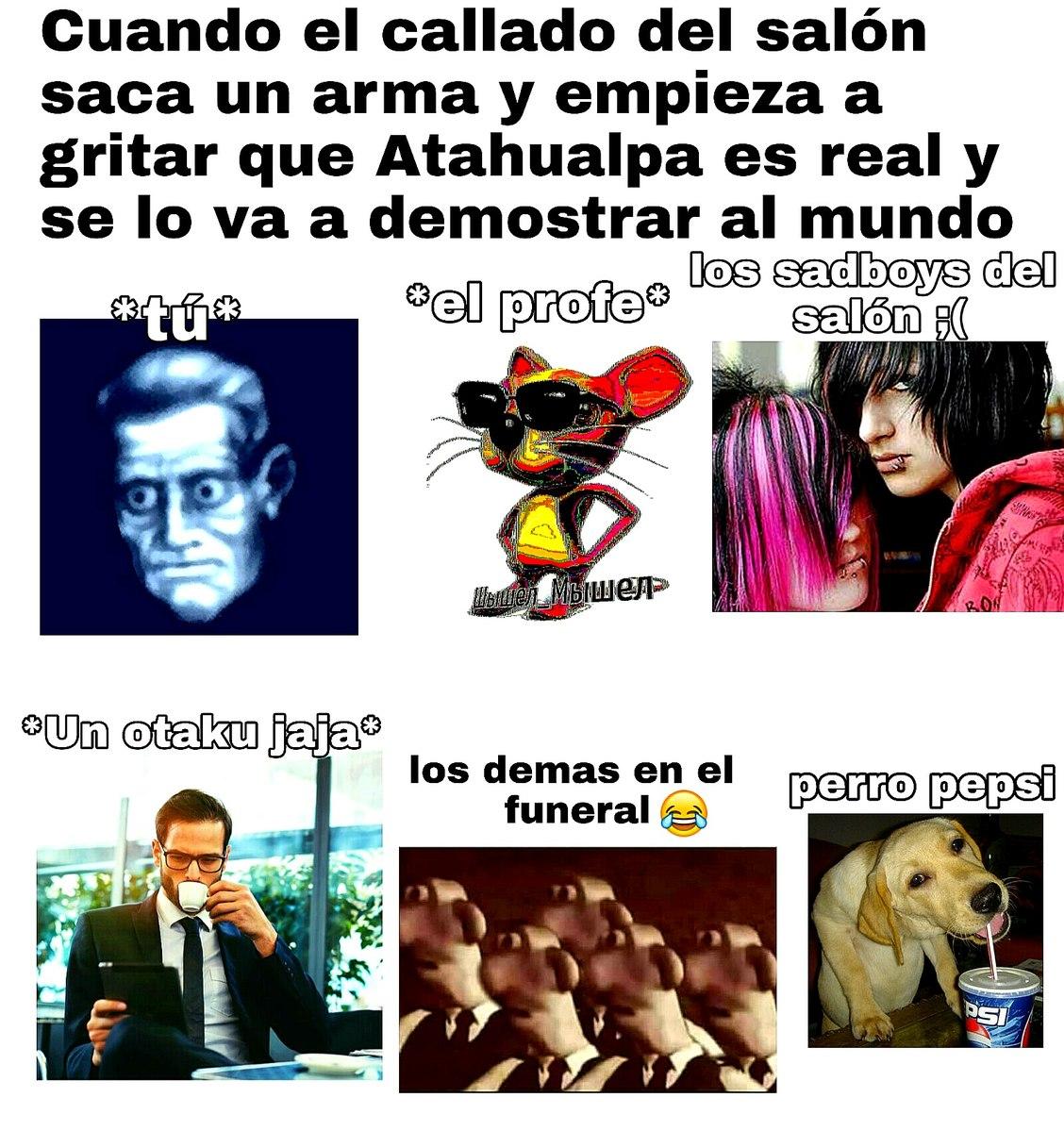 CuAnDo El CaLlAdO dEl SaLóN jaJajAjaJa - meme