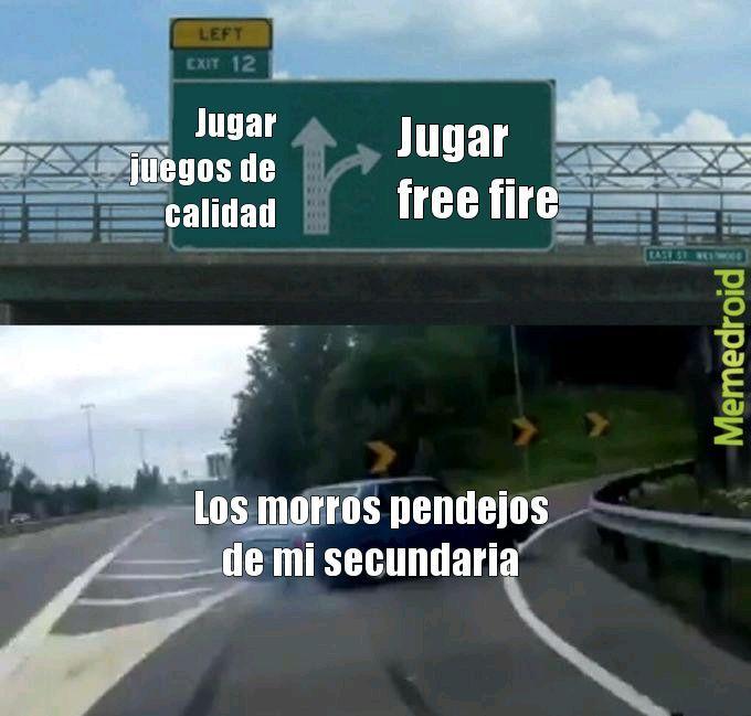Free fire mierdero - meme