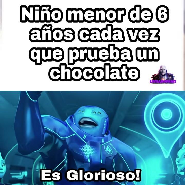 Buenardo el chocolate - meme