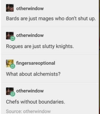 I'm a Rogue - meme