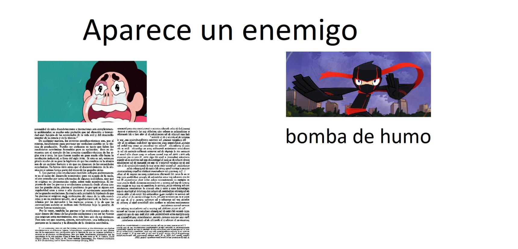 bomba de humo :son: - meme