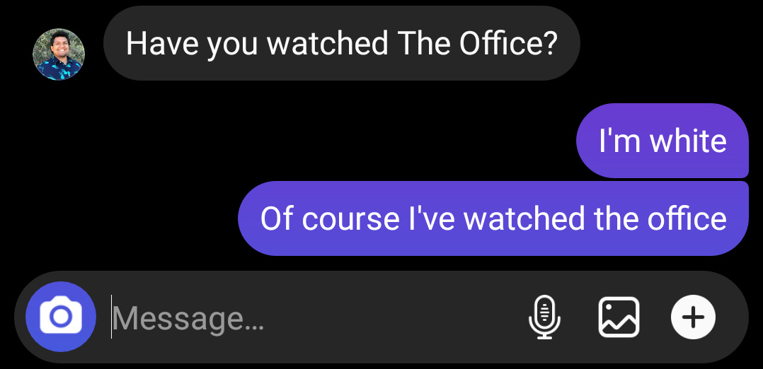 White people, have you watched the office? - meme