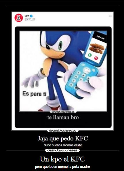 re humilde el KFC - meme