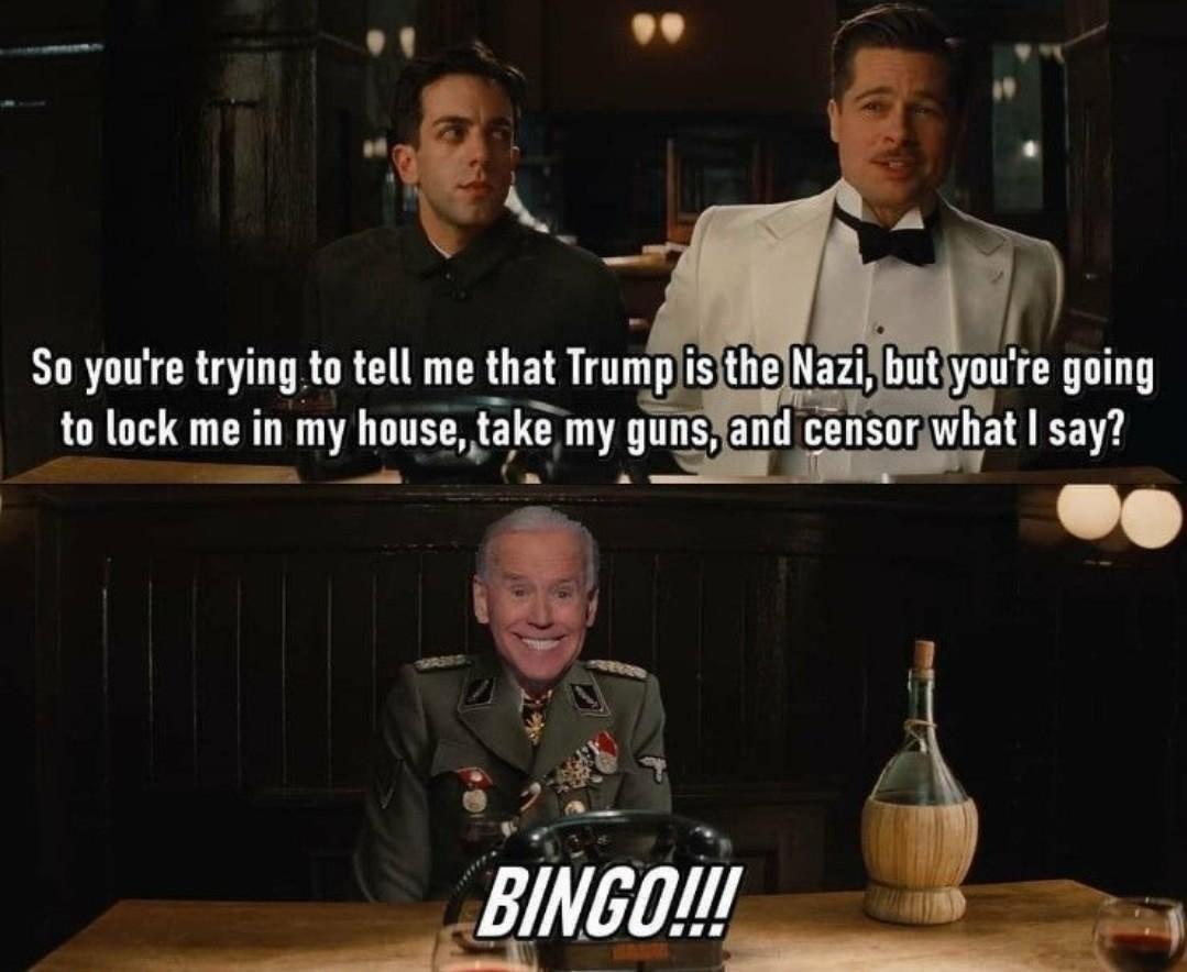 Who's the Nazi now - meme