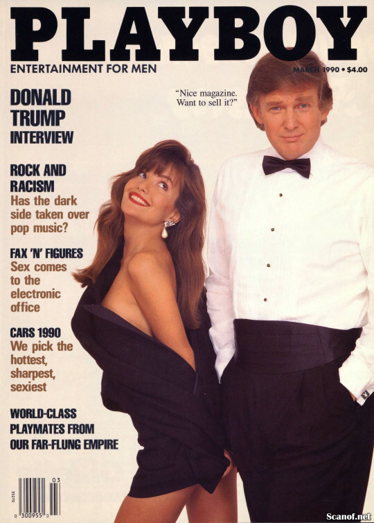 Trump was in a Playboy wow! - meme