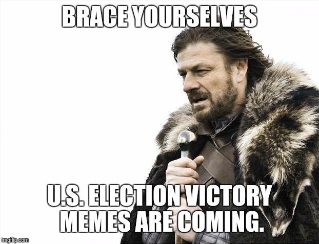 Be prepared. - meme
