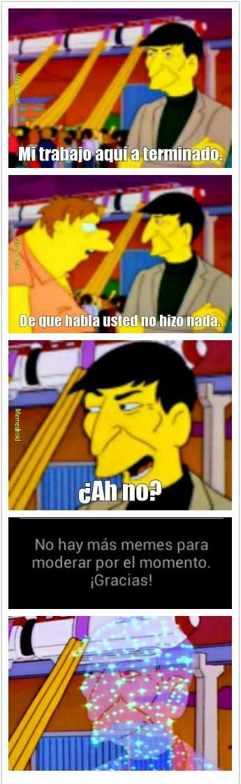 PERDÓN POR LA CALIDAD. - meme
