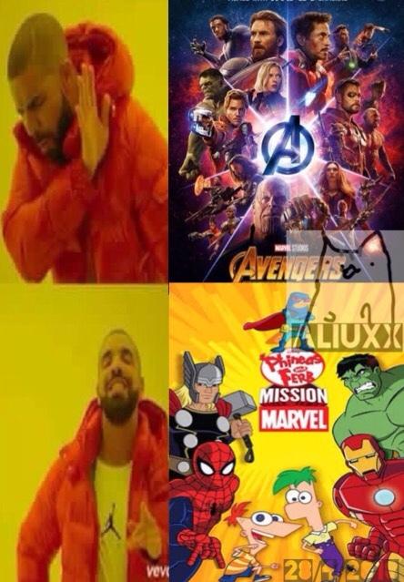 el mejor crossover - meme
