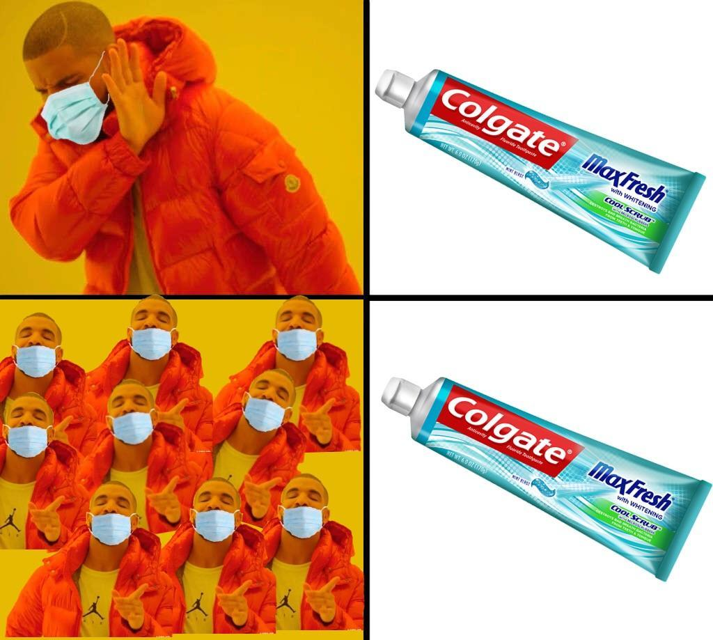 9 dentistes sur 10 recommandent Colgate - meme