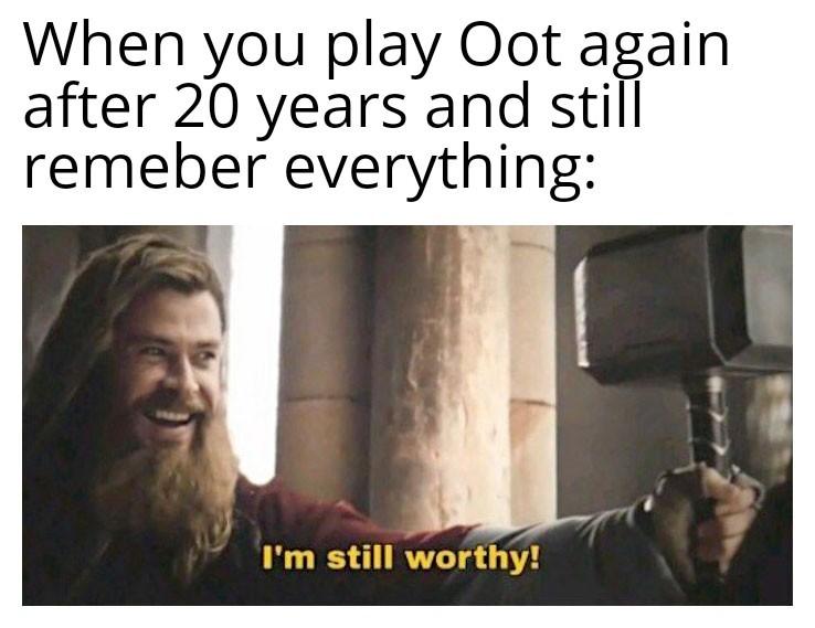 That Oot nostalgia tho - meme