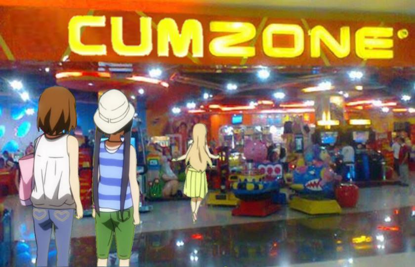 Welcome to the cumzone - meme
