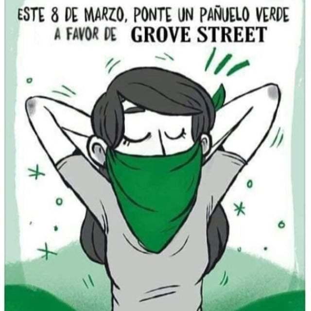 Viva Groove Street gente :allthethings: - meme