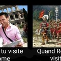 ROME C'EST LA CIVILISATION, ROME C'EST LA PUISSANCE, C'EST L'ANCRE ET ENSEMBLE NOUS SOMME ROME