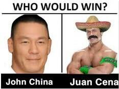 Voto por Juan cena banda - meme