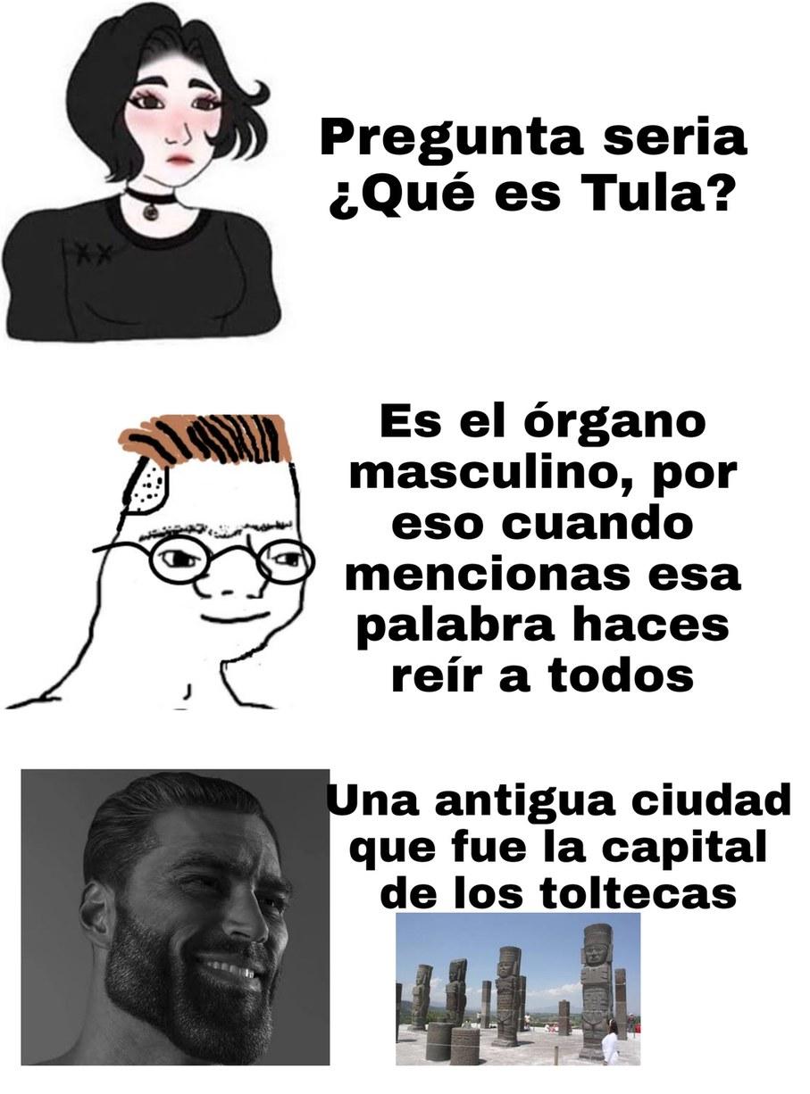 Otro meme con temática mexcana por motivo de septiembre, me arriesgo a subirlo