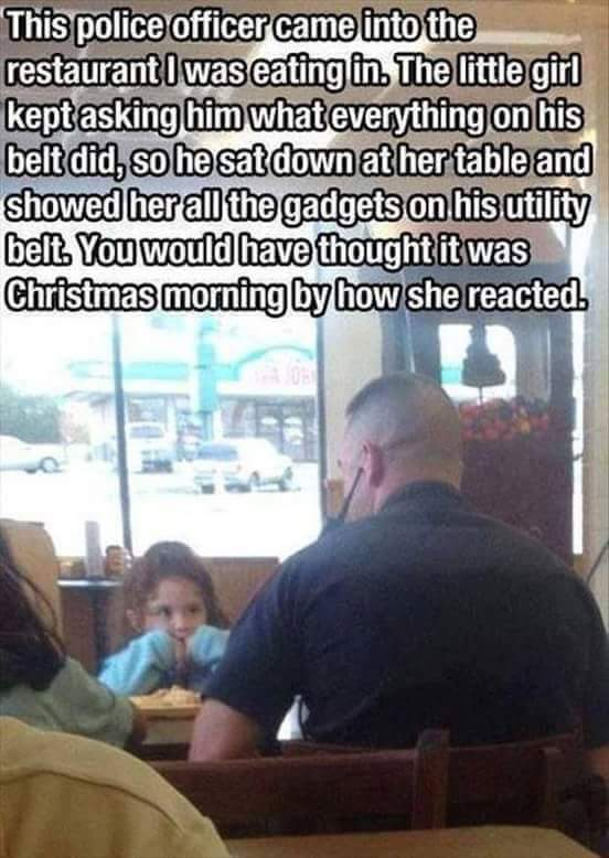 Good guy cop - meme