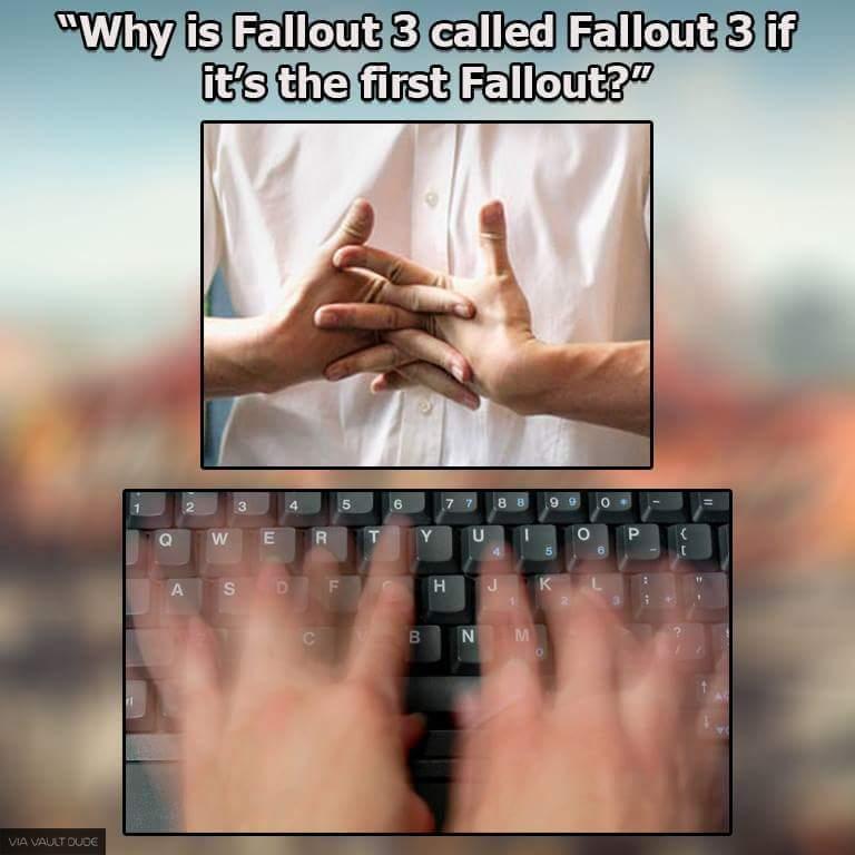Favorite fallout game? - meme