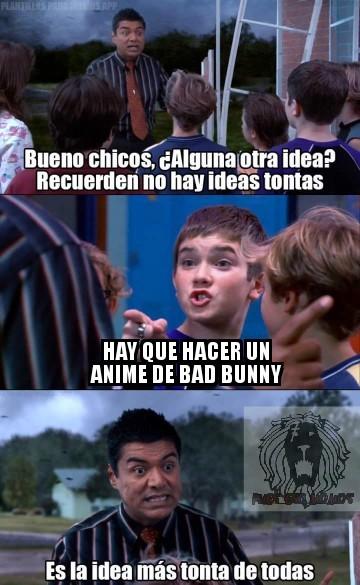 La peor idea - meme
