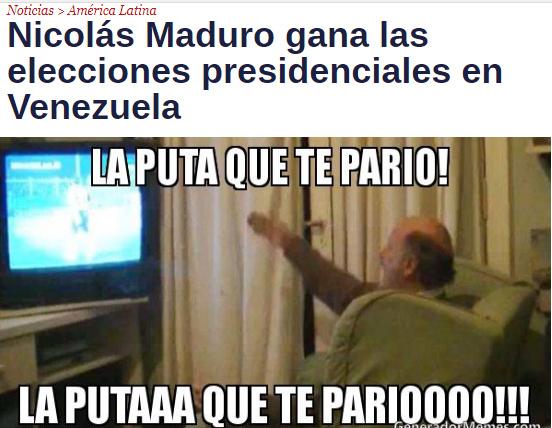Rip venezuela - meme