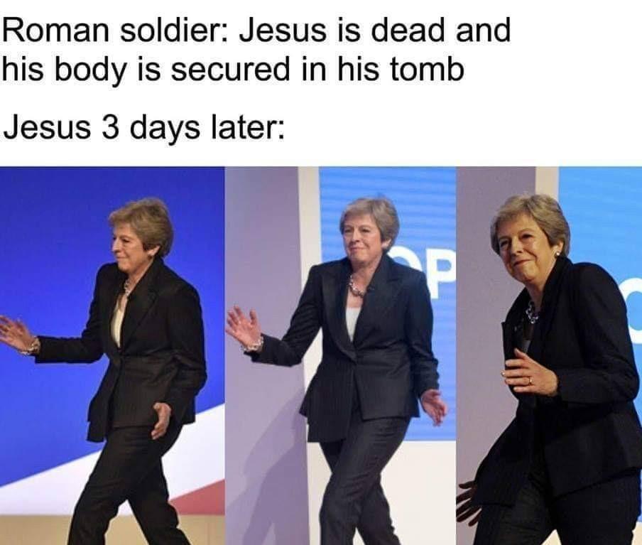 Saint Theresa - meme