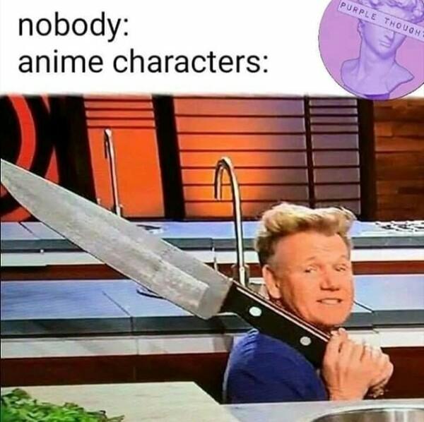 Always the sword - meme