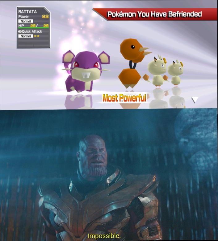 Rattata el Dios - meme