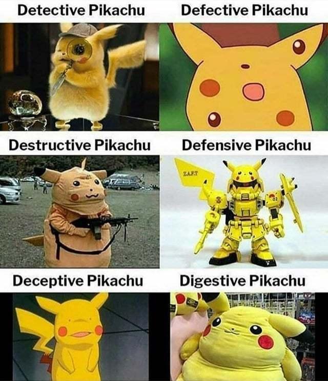Pinkachu - meme