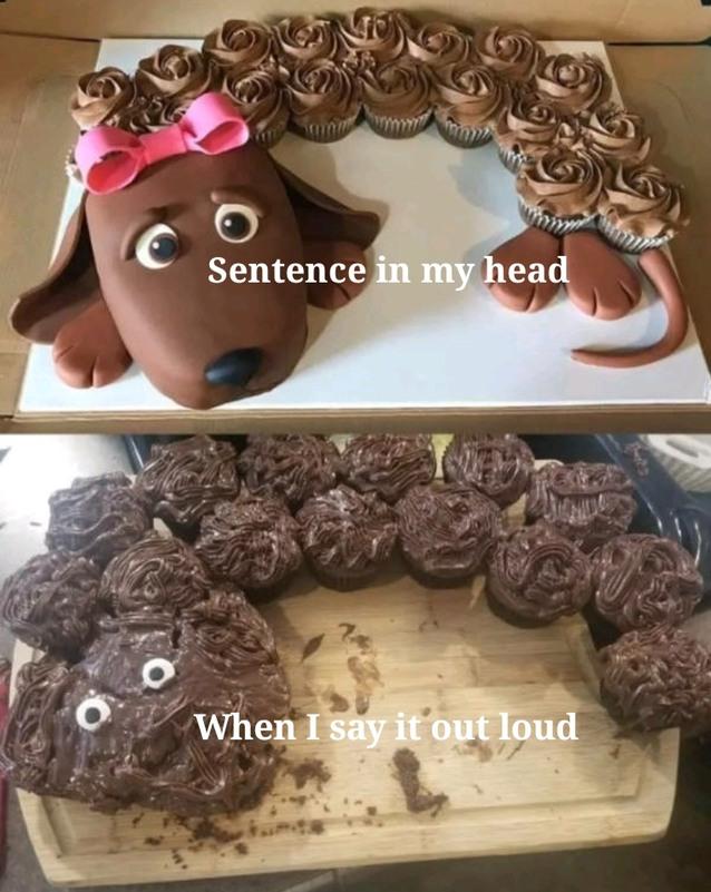Verbal difficulties - meme