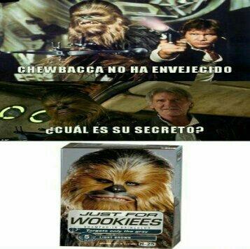 Wookies - meme