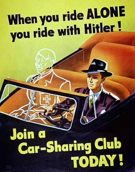 You always ride with Hitler - meme
