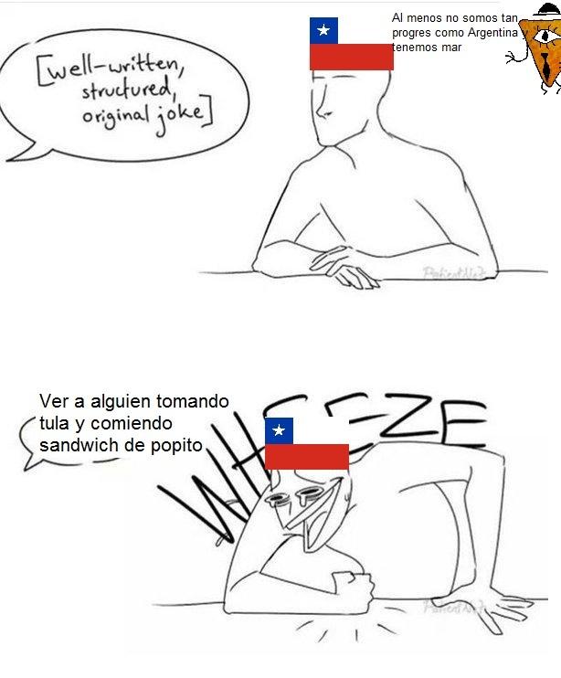 Tipico chileno - meme