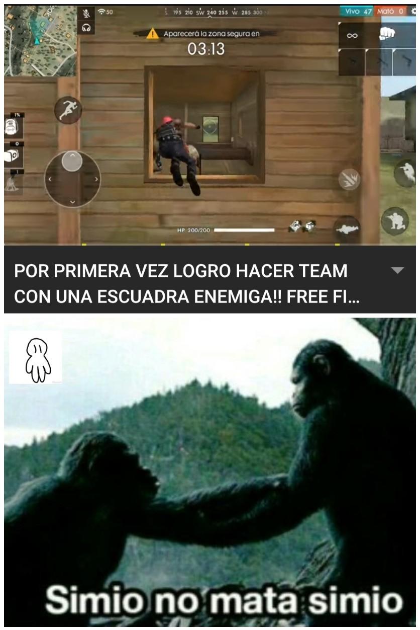Fri fair es para simios des evolucinados :) - meme