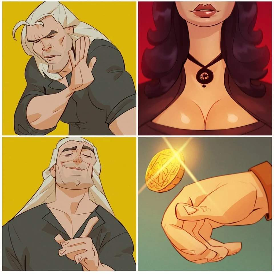 The witcher - meme