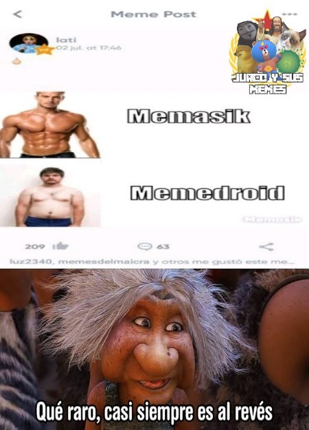 Que hijos de fruta el memasik - meme