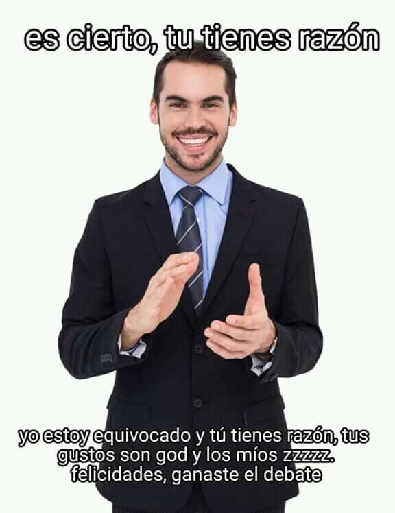 GANASTE EL DEBATE - meme