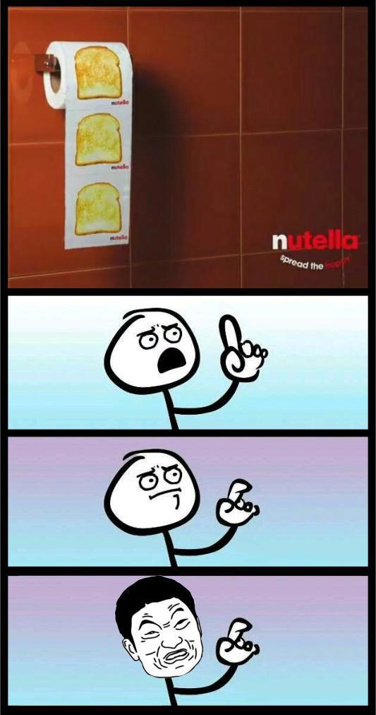 Je ne verrai plus ke Nutella de la même manière désormais. . - meme
