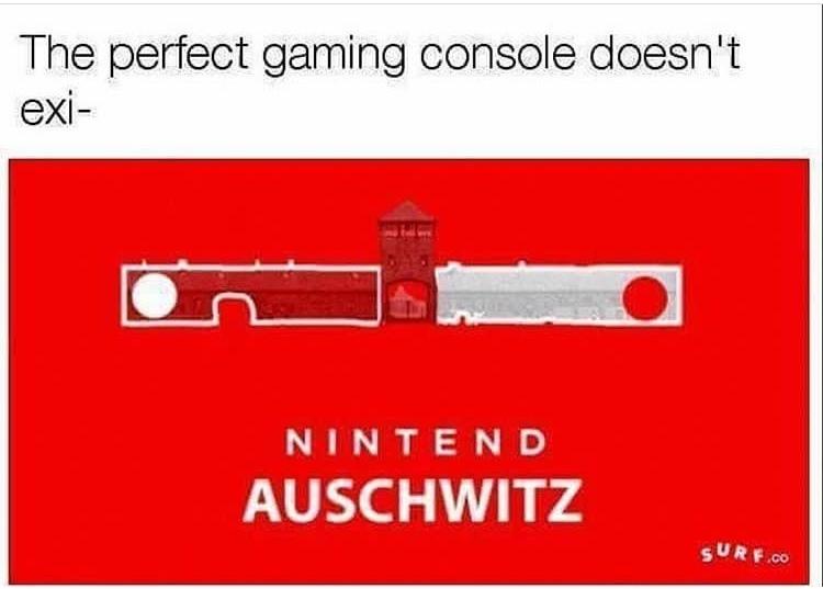 """""""o console perfeito para jogos não exis-"""" - meme"""