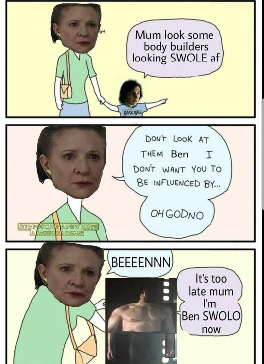 it's over Rey. I have the high gains. - meme
