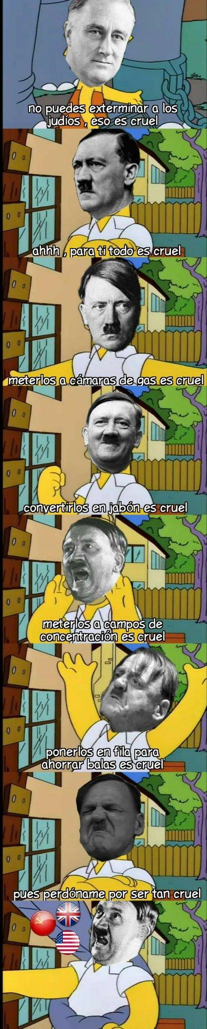 Todo es cruel - meme
