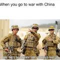 """""""Quand tu pars en guerre contre la Chine"""" """"-Les gars c'est la 7ème fois que j'ai tué ce gars"""""""