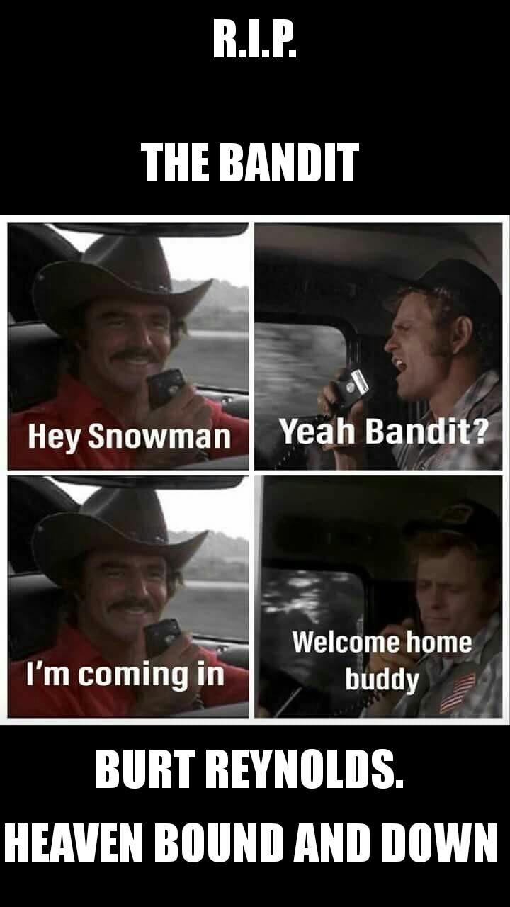 God bless the bandit - meme