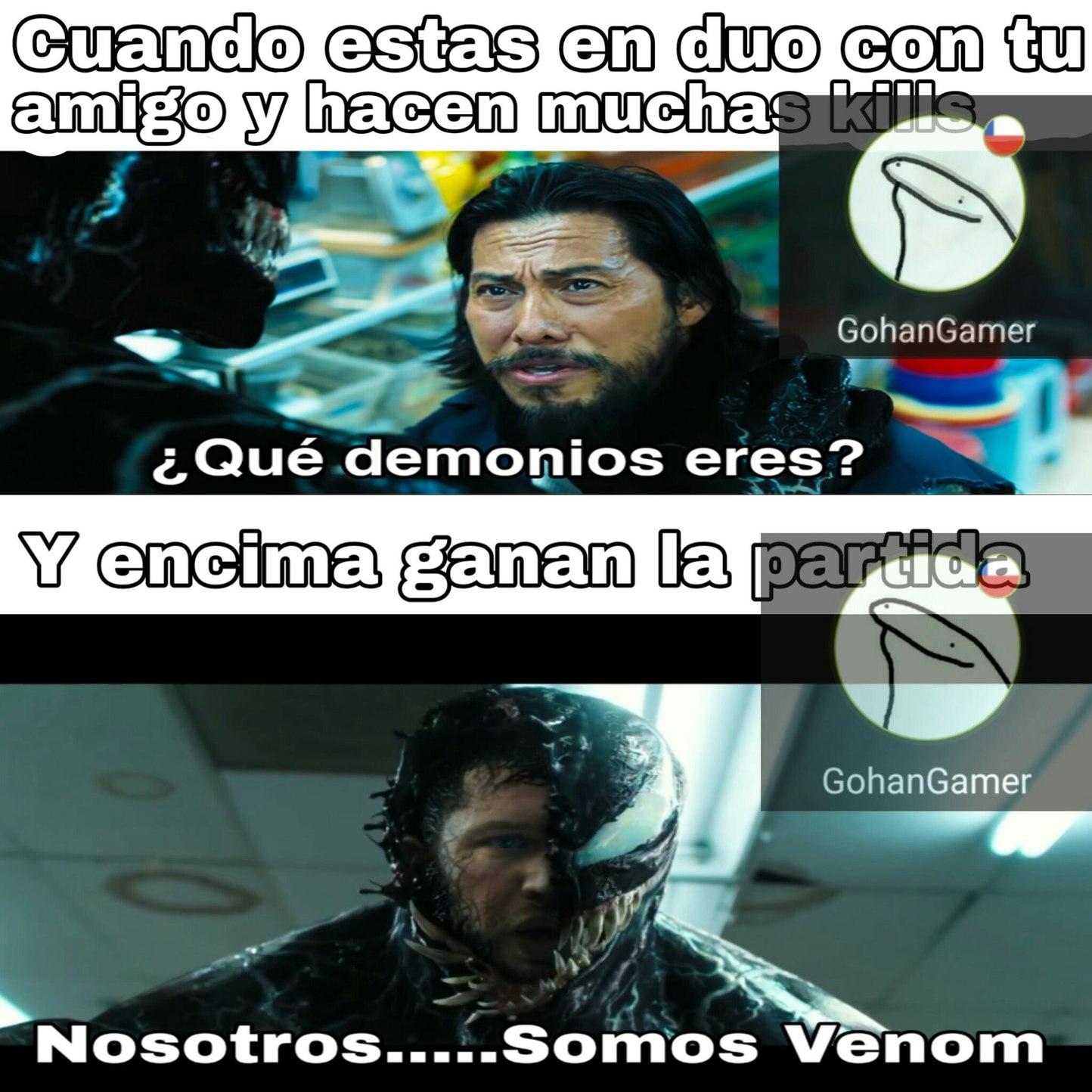 Quien se ve Venom? - meme